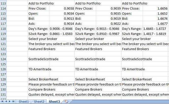 Forex classic data sheet