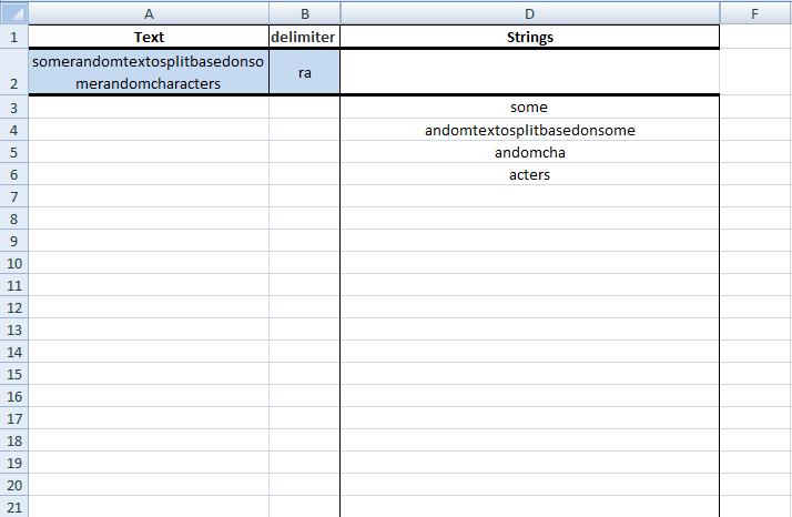 Excel, Formulas, Sample 1, Summary 3
