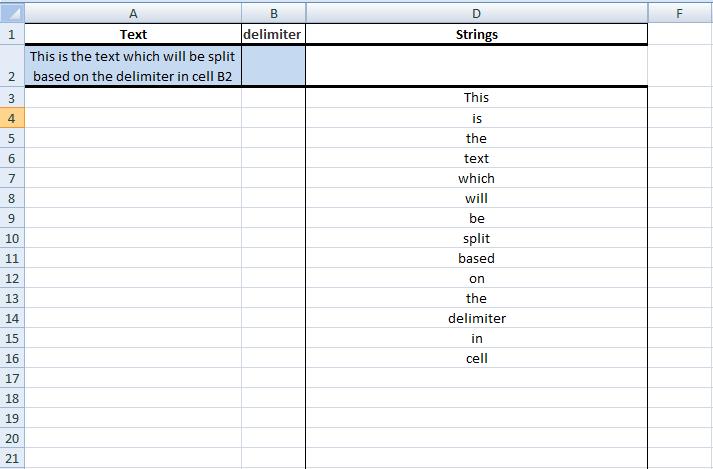 Excel, Formulas, Sample 1, Summary