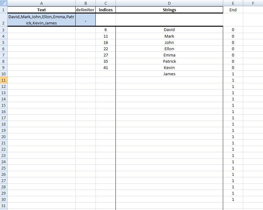 Excel, Formulas, Sample1, Step5,Copy_Drag Result