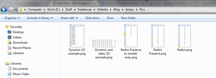 Files In Directory