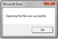 VBA, Check File Status