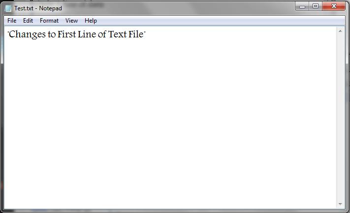 Vb write ascii file