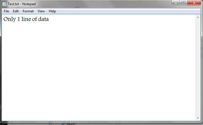 VBA, Modify Text File, Only one Line