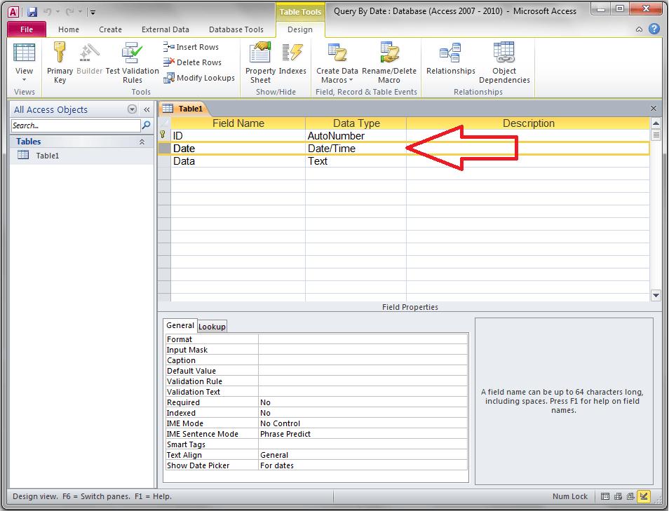 Date Datatype