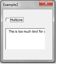 MultiLine TextBoxes(3)