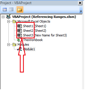 Sheet Object Variable Name