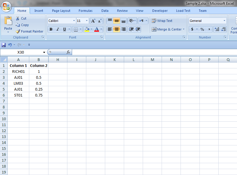 Excel Formulas and Functions Hide Columns Result