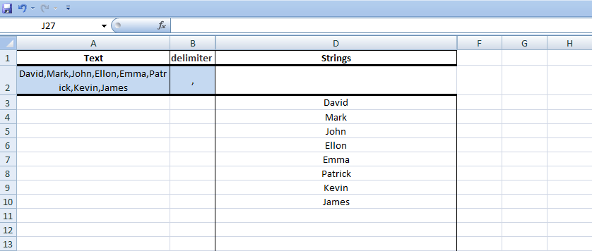 Excel, Formulas, Sample1, Step6, Hide Columns C and E