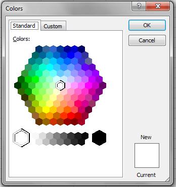 Excel VBA, DIalogs, Color, Tab1