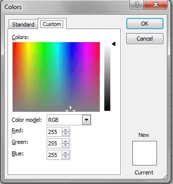Excel VBA, DIalogs, Color, Tab2