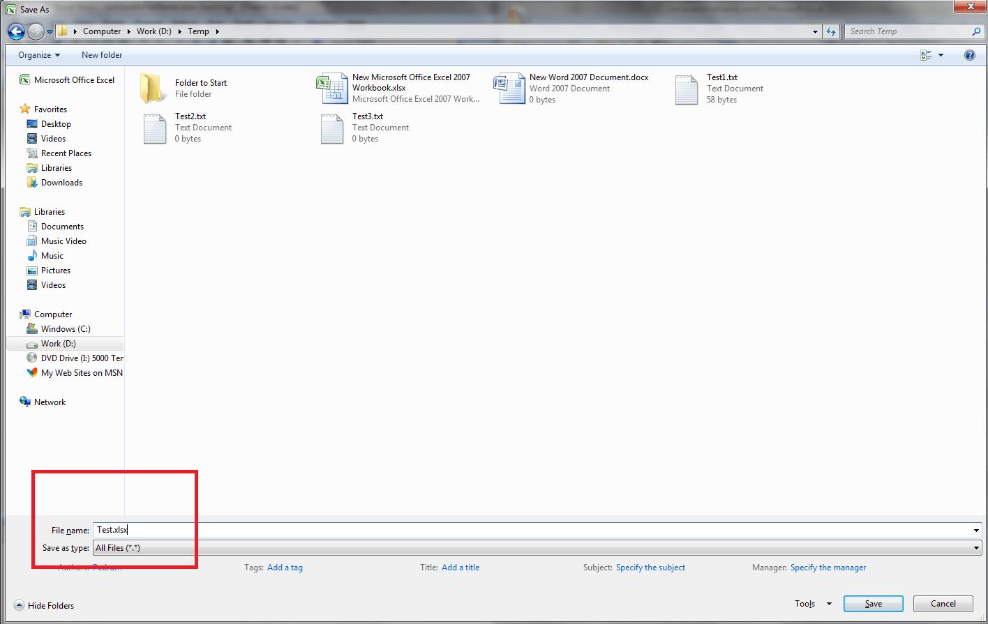 Excel VBA Save File Dialog, GetSaveAsFilename() - VBA and VB