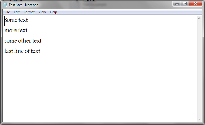 Excel VBA, Read Text File Using Dialog