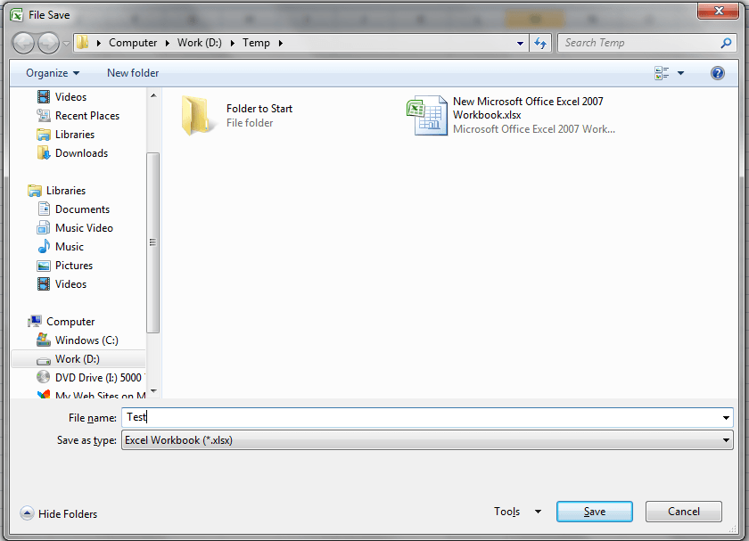 VBA Save File Dialog, FileDialog(msoFileDialogSaveAs) - VBA