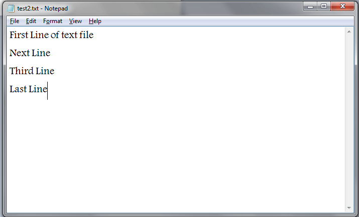 Excel VBA, text file to read all data