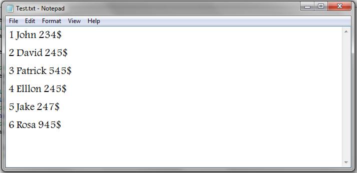 VBA, Modify Text File Result