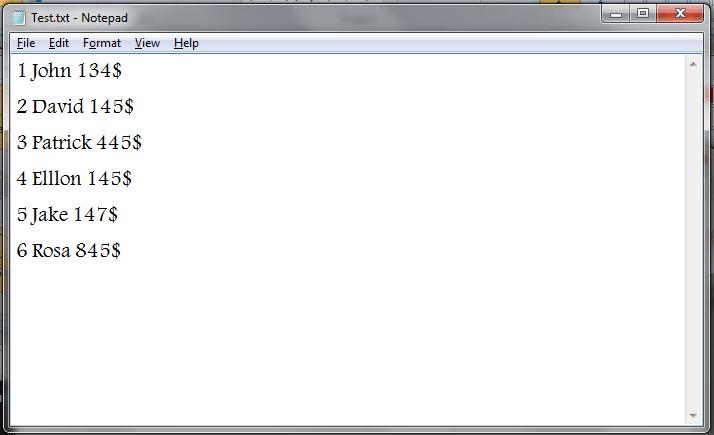 VBA, Modify Existing Text File - VBA and VB Net Tutorials, Education