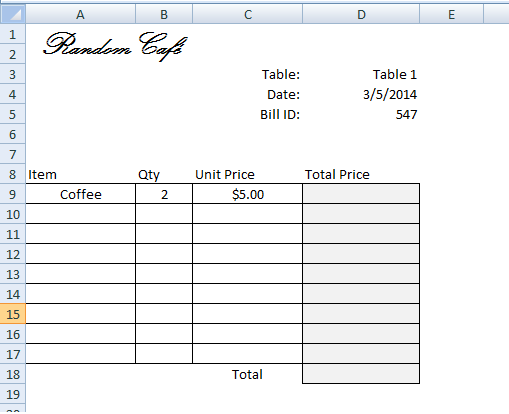 Create Invoicebill Using Vlookup Step By Tutorial Vba And. Vlookup Result Excel. Worksheet. Worksheetfunction Vlookup Not Found At Clickcart.co