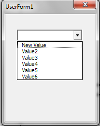 VBA, Modify Value