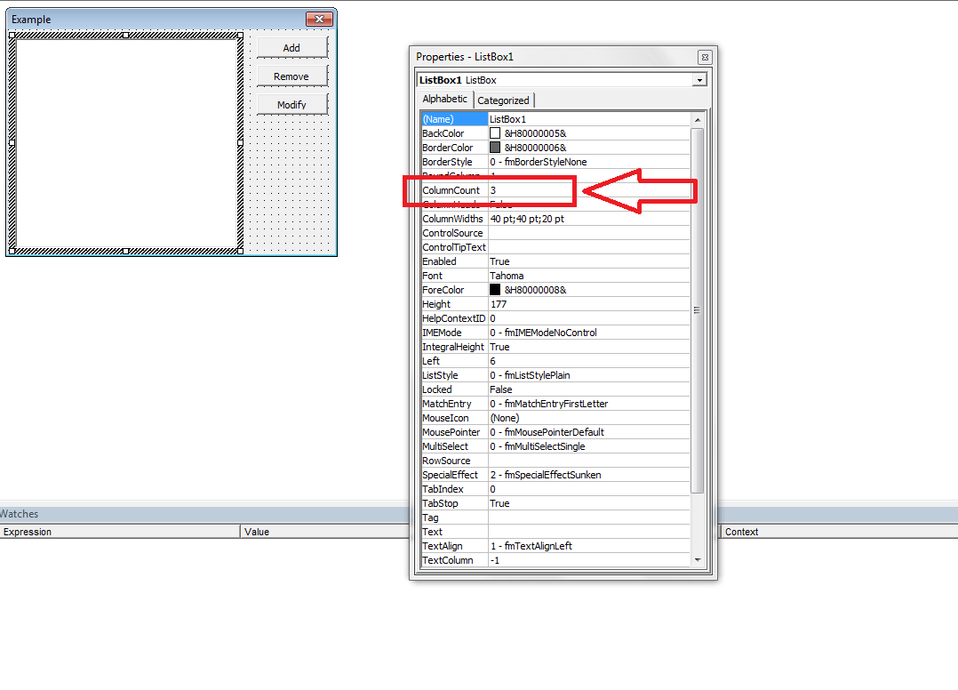 Vba multi column listboxes vba and vb tutorials learning and column count listbox vba ibookread Read Online