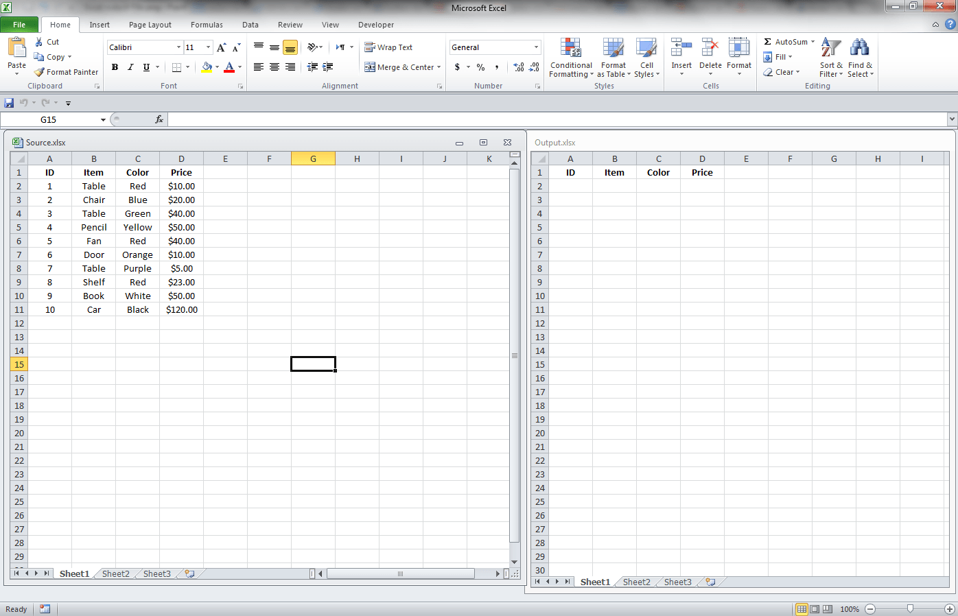 Workbooks excel.workbooks.open : Excel, Getting Data From Another Workbook Through Links - VBA and ...