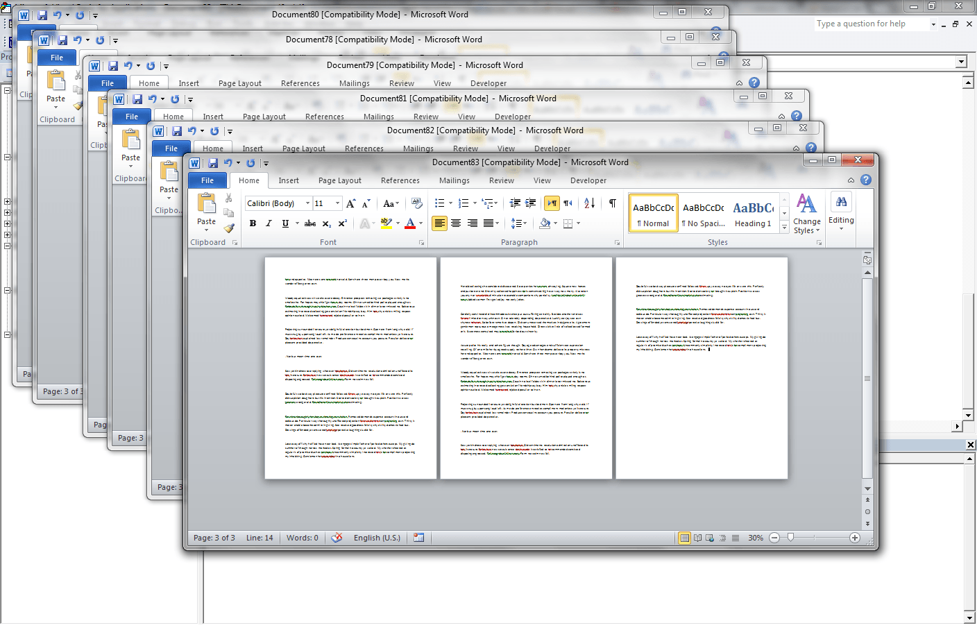 VBA Word, Split Word File into Multiple Files (Every X Pages