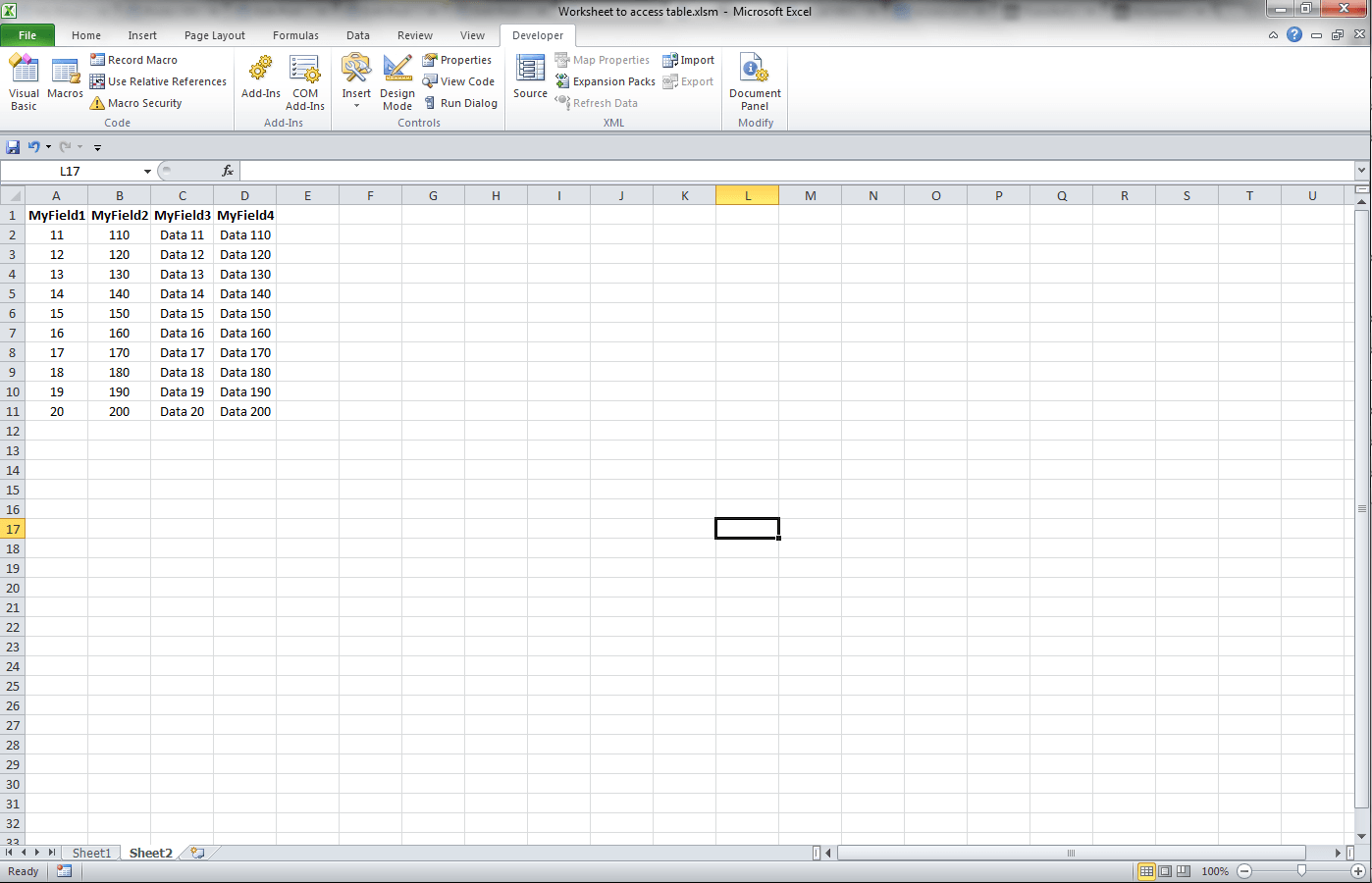 Access VBA, Import Excel Worksheet to Existing Table - VBA and VB