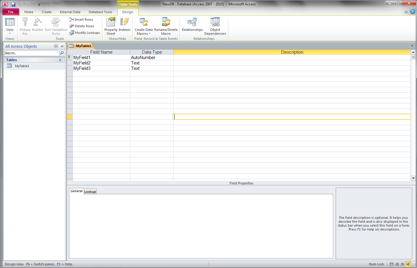 Access VBA Get Field Names - VBA and VB Net Tutorials