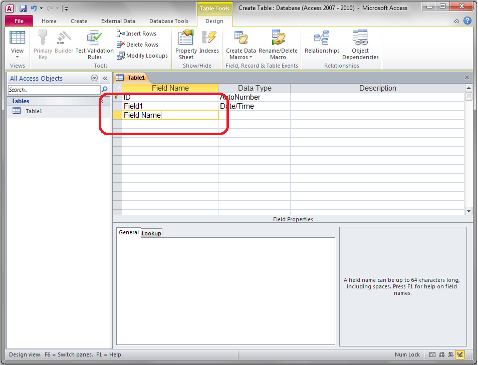 Access Add Fields to Table - VBA and VB Net Tutorials