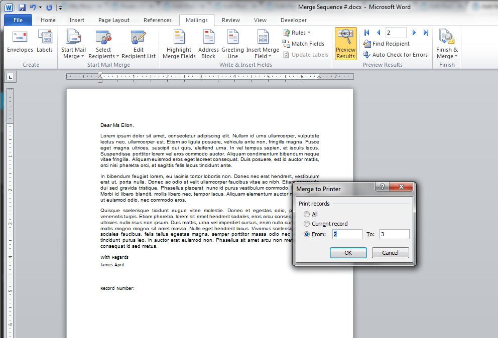Print Documents