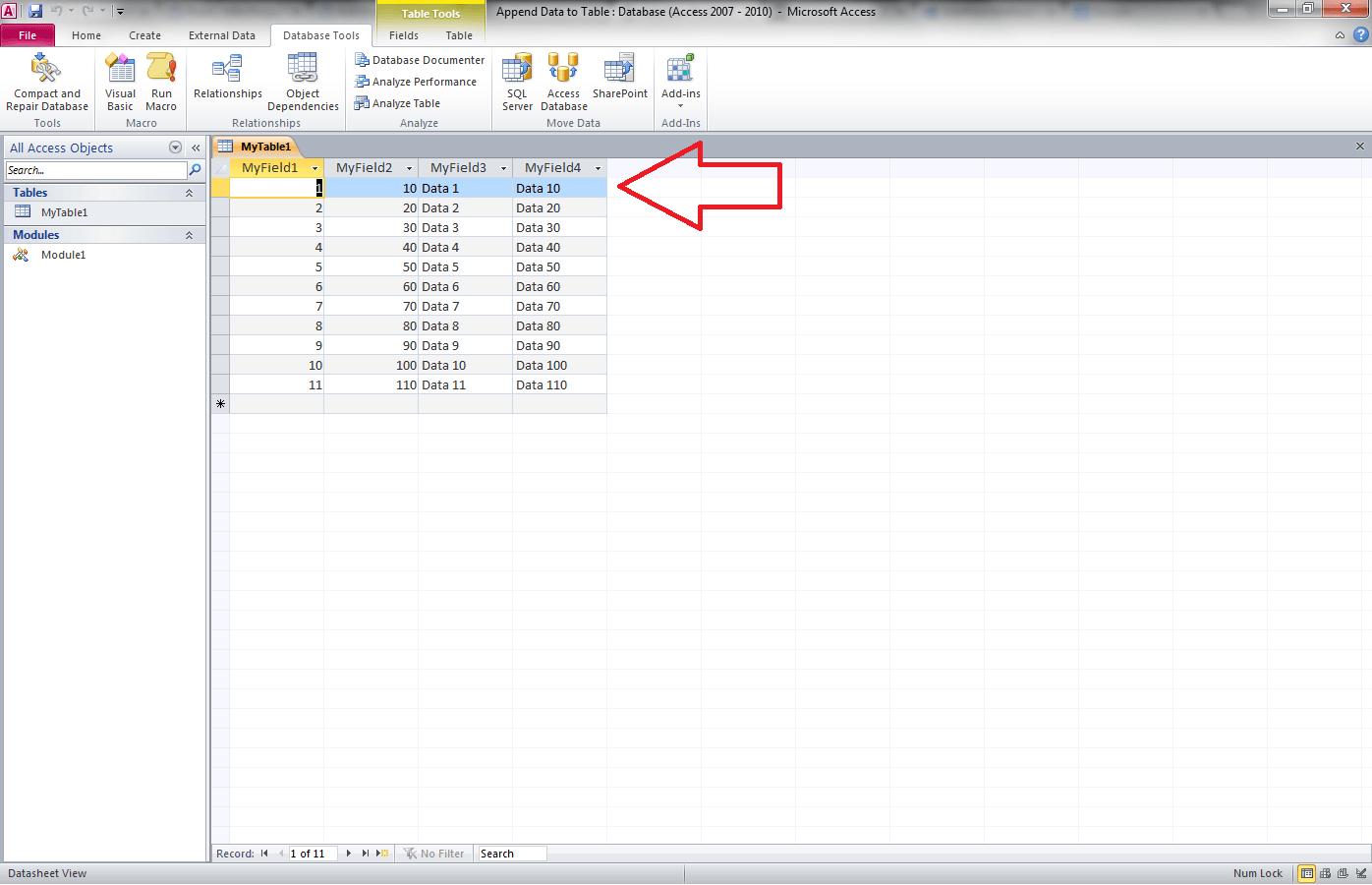 Modify Existing Data in Table, Access VBA Recordsets - VBA