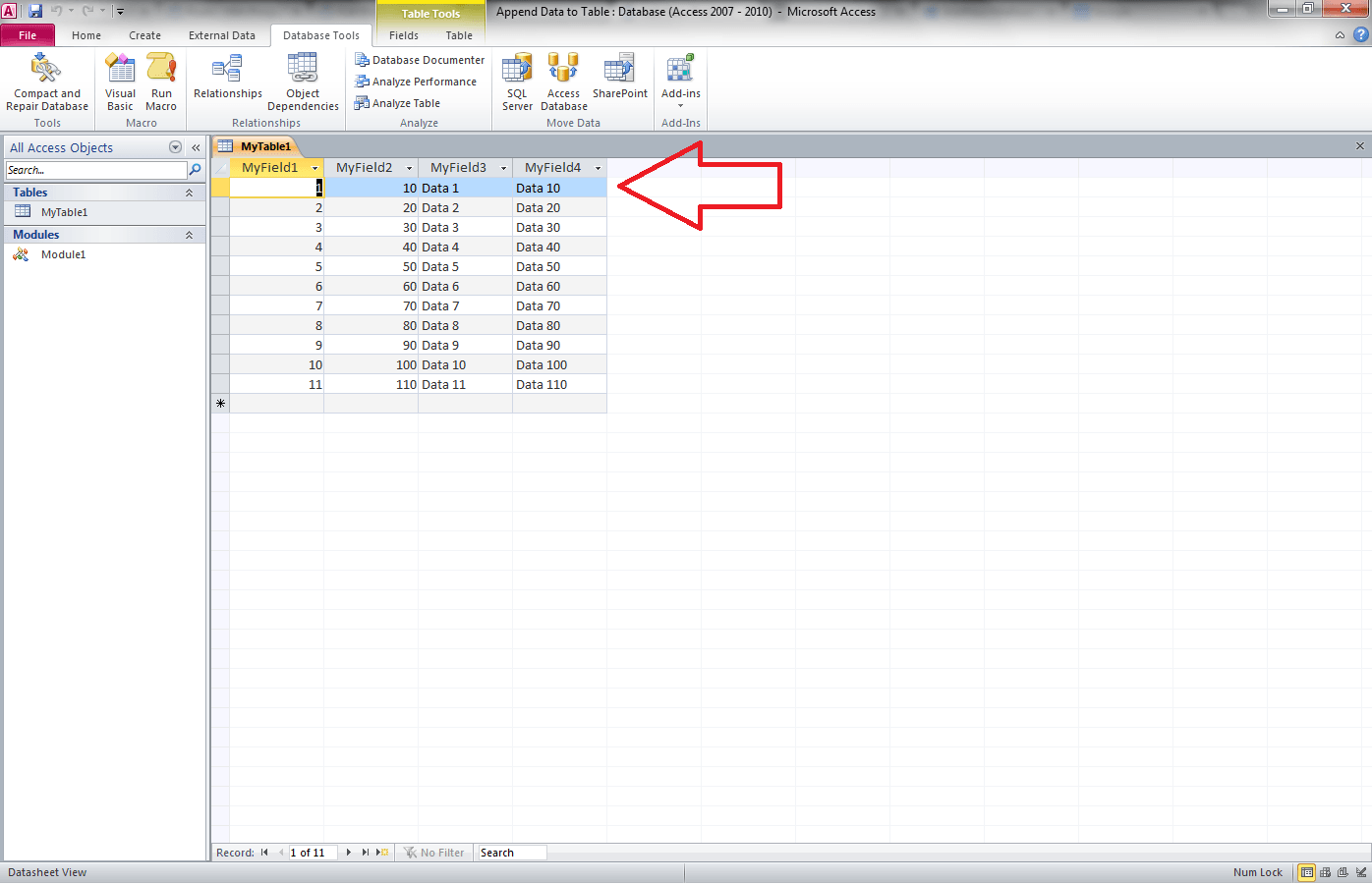Delete Record, Access VBA Recordset - VBA and VB Net Tutorials