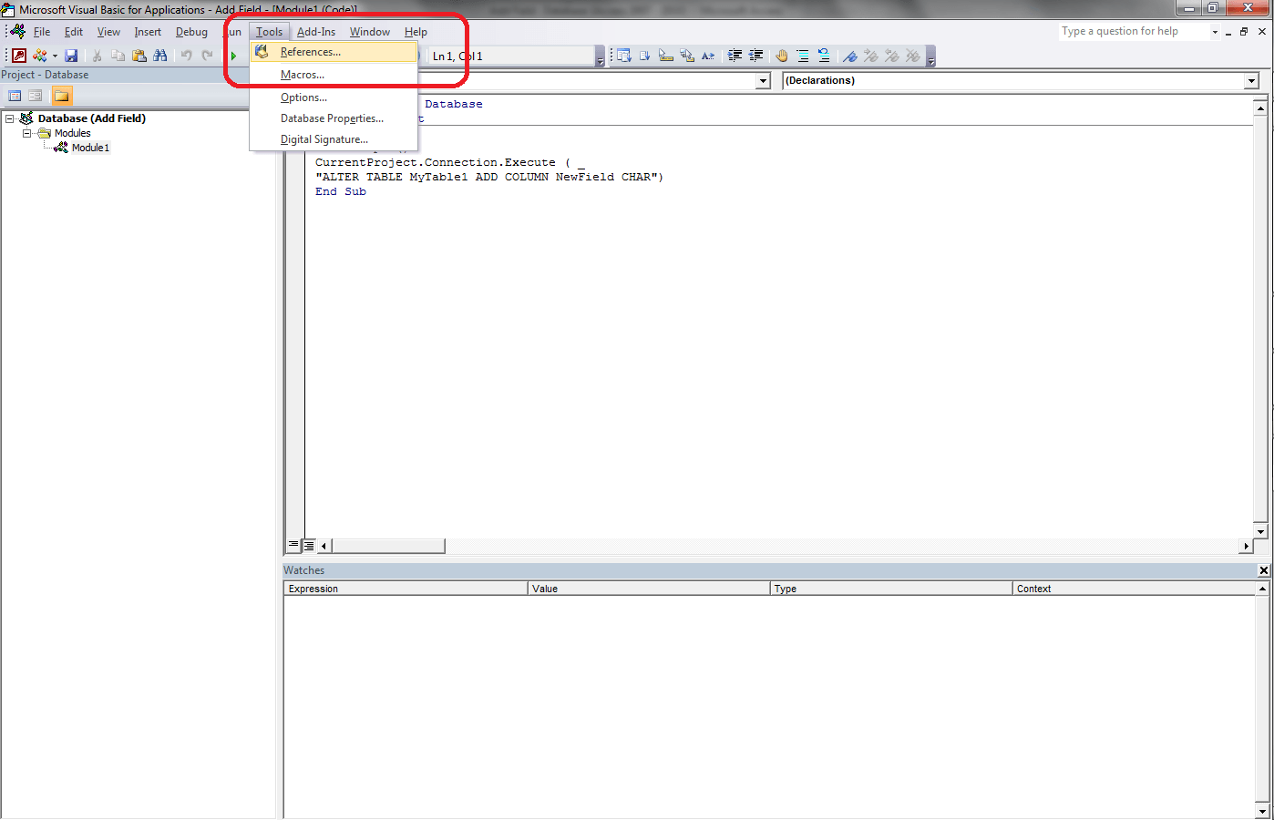 VBA Access Object Library - VBA and VB Net Tutorials