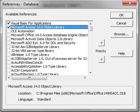 VBA Access Object Library - VBA and VB Net Tutorials, Education and