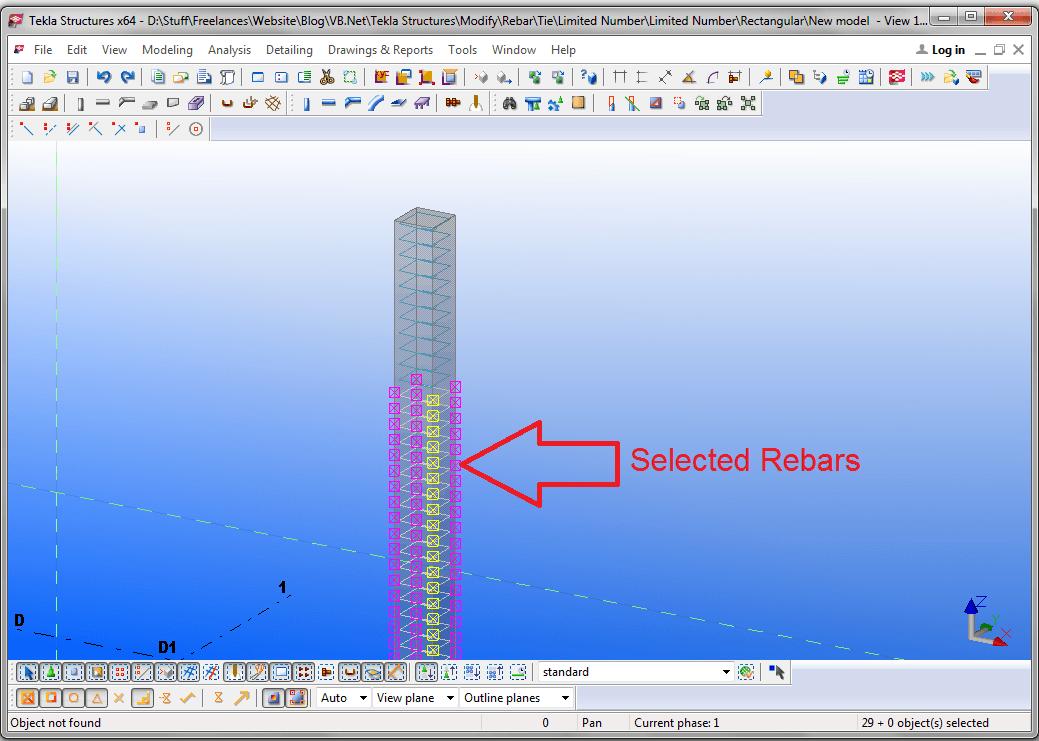 Selected Rebars
