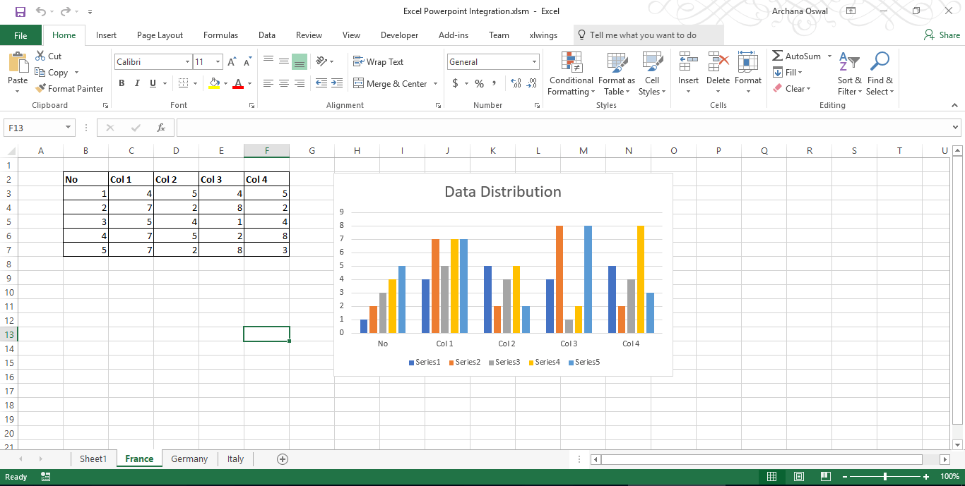 Accessing PowerPoint controls through Excel VBA - VBA and VB