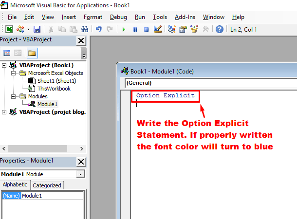 manually write option explicit