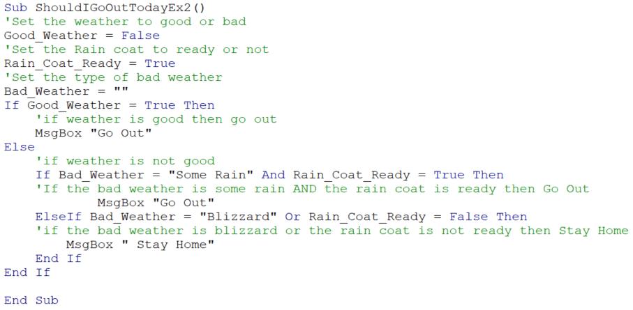 Example 2 code